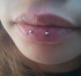 lip horizontal