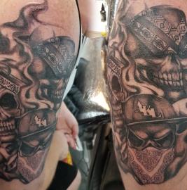 Gansta skull